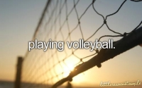 Volleyball-My favorite sport