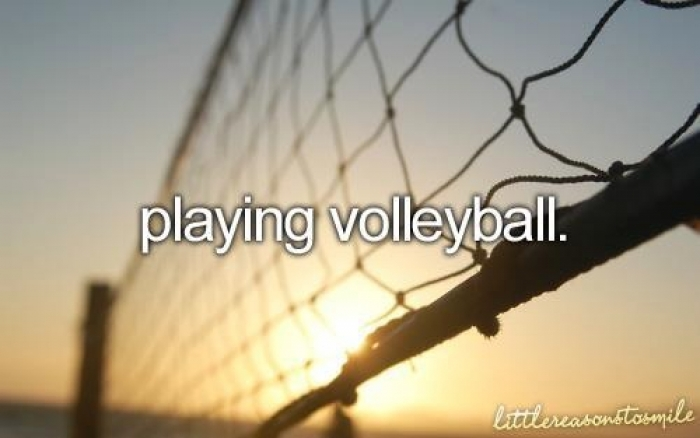 my favorite sport volleyball my favorite sport