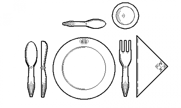 Instructions for setting the table  sc 1 st  Milimar Projects & for setting the table: